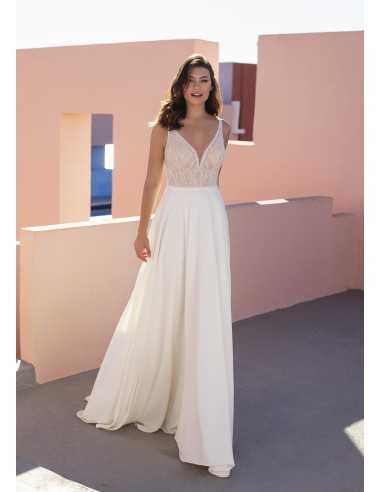 Wedding dress EVERGREEN - WHITE ONE