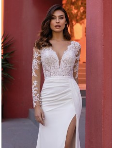 Wedding dress FERN - WHITE ONE