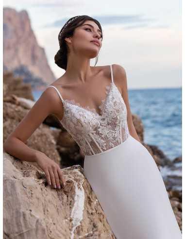 Wedding dress HEATH - WHITE ONE
