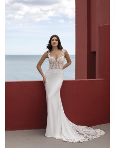Wedding dress LAVA - WHITE ONE