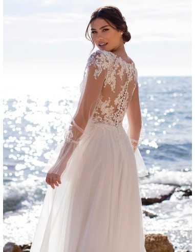 Wedding dress PERIWINKLE - WHITE ONE