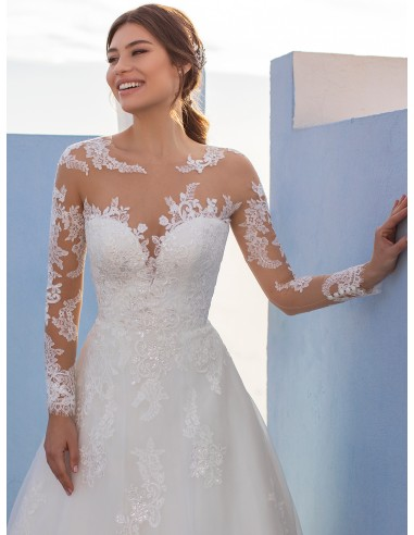 Vestidos de novia RUKSHANA - WHITE ONE