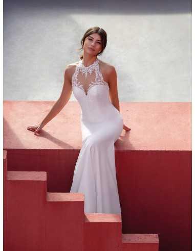 Wedding dress SKYBLUE - WHITE ONE