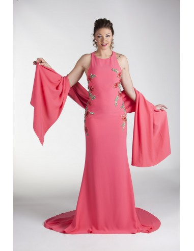 Evening dress GRONDAL- SALMON