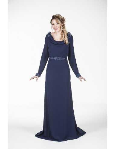 Vestidos de fiesta Gaetana-Azul