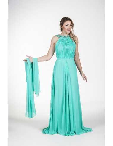 Evening dress Grama-Green