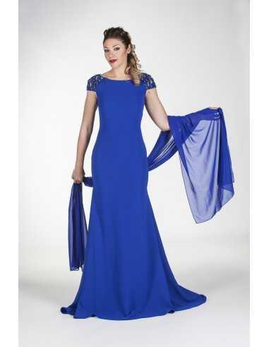 Vestidos de fiesta Grael-Azul