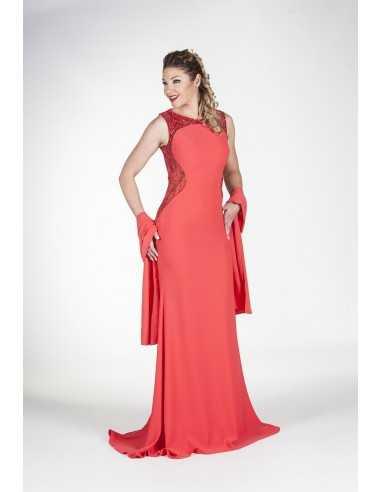 Vestidos de fiesta Ganet-Rojo