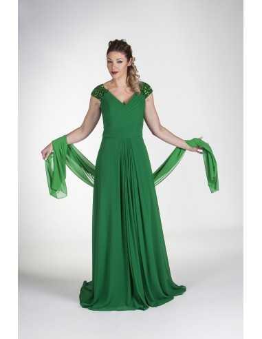 Vestidos de fiesta Gante-Verde