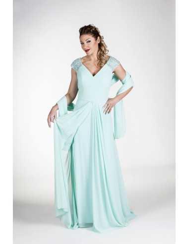 Vestidos de fiesta Gante-Azul claro