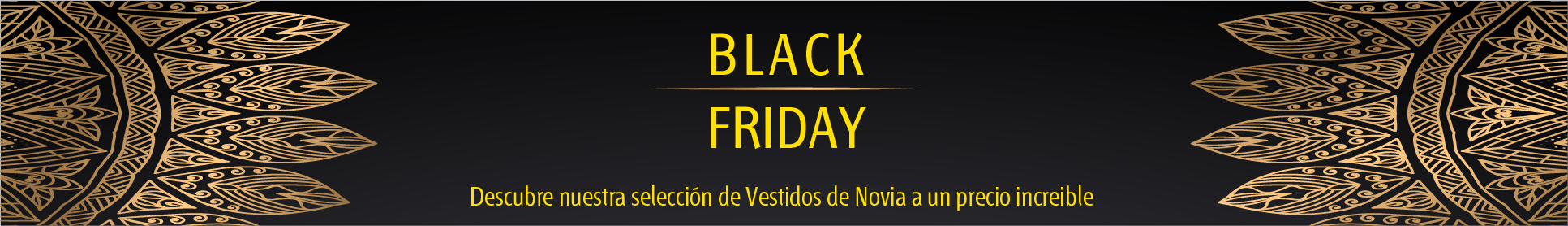 Black Friday en vestidos de novia