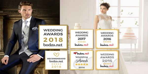 5ª año en los Wedding Awards 2018 de bodas.net